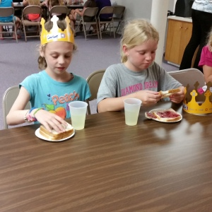 Snacks VBS 2014 Day 1